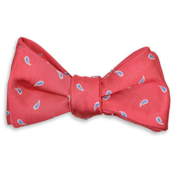 Cooper Bow Tie in Coral by High Cotton