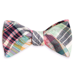 Crawdad Patchwork Bow Tie by High Cotton - FINAL SALE