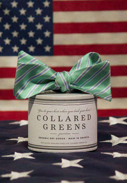 Bow Ties - Curlin Bow In Teal By Collared Greens