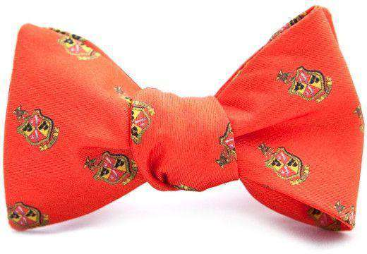 Delta Chi Bow Tie in Red by Dogwood Black