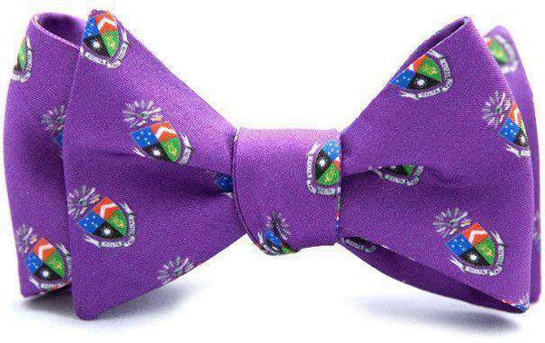 Delta Tau Delta Bow Tie in Purple by Dogwood Black