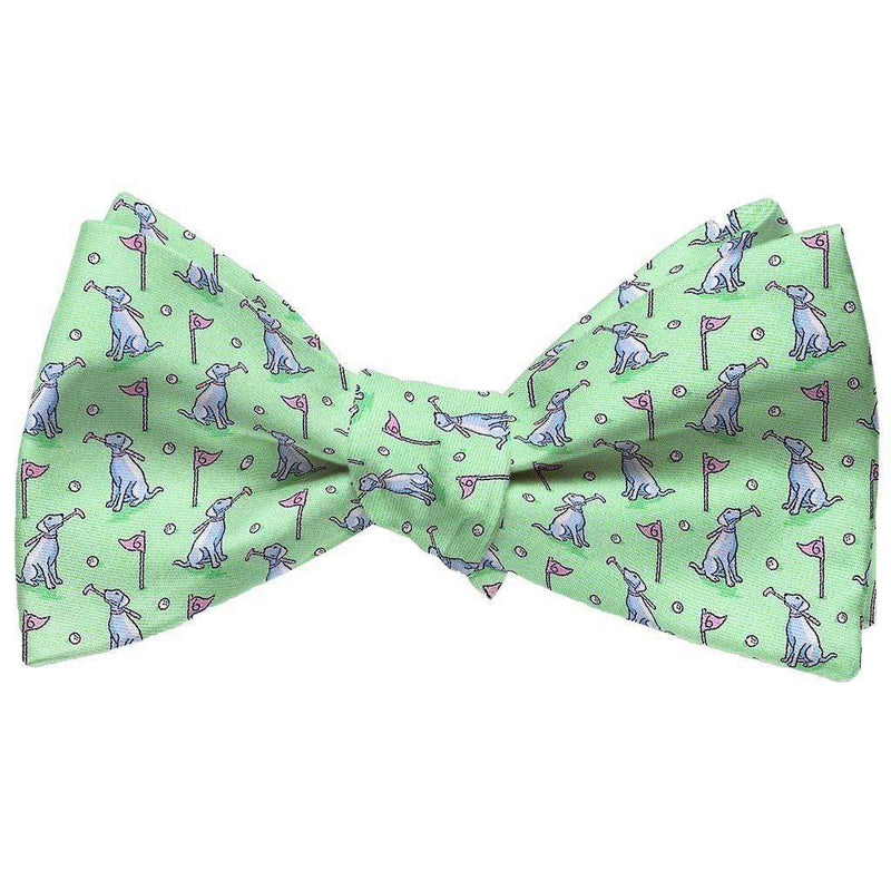 Dogleg on Six Bow Tie in Mint by Bird Dog Bay - FINAL SALE
