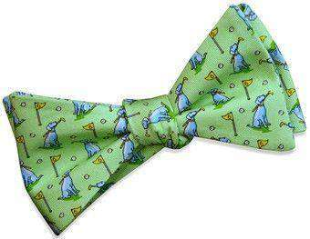 Bow Ties - Dogleg On Six Bow Tie In Soft Green By Bird Dog Bay