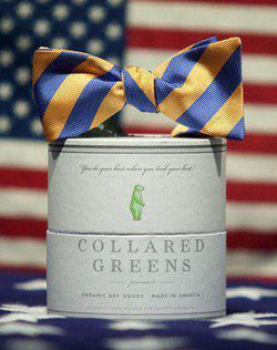 Bow Ties - Drake Bow In Blue/Orange By Collared Greens