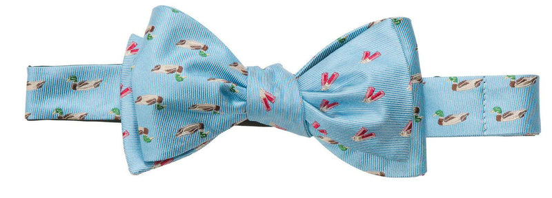Bow Ties - Ducks And Shells Bow Tie In Light Blue By Southern Proper