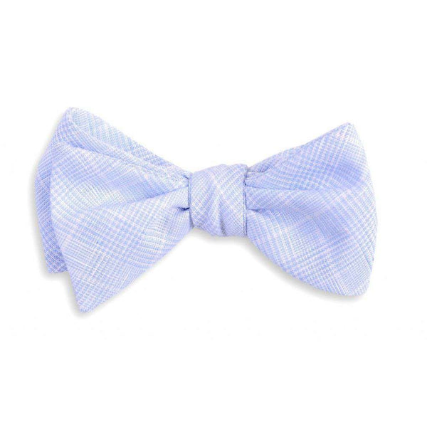 Bow Ties - Easton Linen Bow Tie In Blue By High Cotton