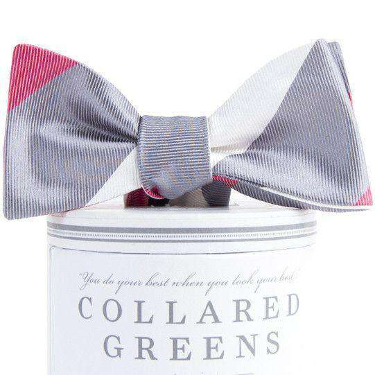 Bow Ties - Faulkner Bow Tie In Grey By Collared Greens