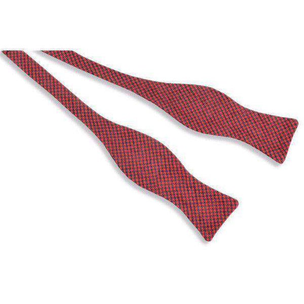 Foxhound Bow Tie in Red by High Cotton