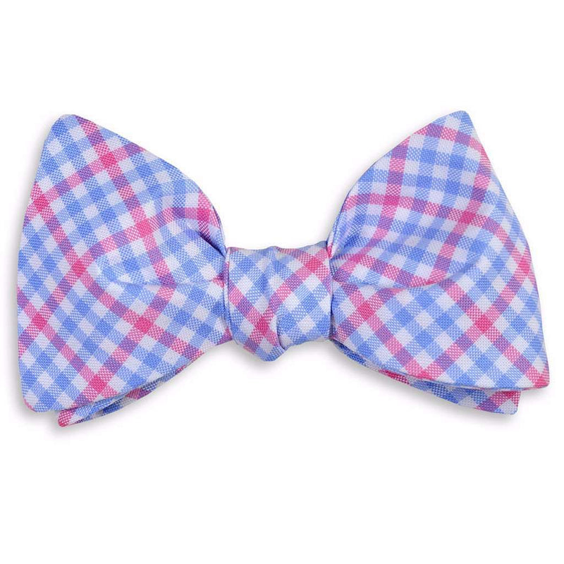 French Quarter Check Bow Tie by High Cotton
