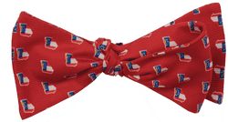 Georgia Traditional Bowtie in Red by State Traditions and Southern Proper - Country Club Prep