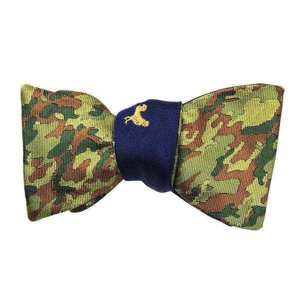 Golden Rooster and Camo Bow Tie by Social Primer - FINAL SALE