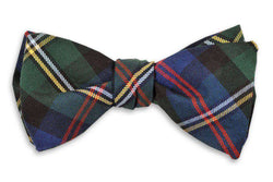 Bow Ties - Gordon Plaid Bow Tie By High Cotton