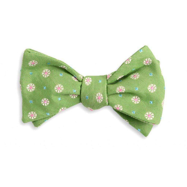 Bow Ties - Green Avery Bow Tie By High Cotton