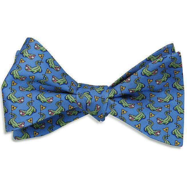Bow Ties - Hazard On Eight Bow Tie In Blue By Bird Dog Bay