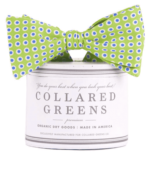 Bow Ties - Henry's Bow In Green By Collared Greens