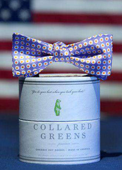 Bow Ties - Henry's Bow In Purple By Collared Greens