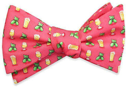 Bow Ties - Hoppy Hour Bow Tie In Coral By Bird Dog Bay