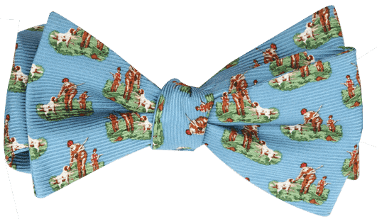 Bow Ties - Hunter & Son Bow Tie In Blue By Southern Proper