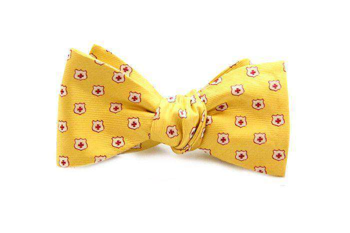 Bow Ties - Kappa Alpha Order Bow Tie In Gold By Dogwood Black