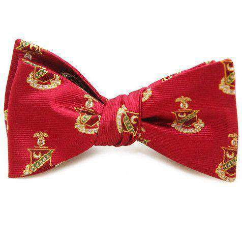 Kappa Sigma Bow Tie in Scarlet by Dogwood Black