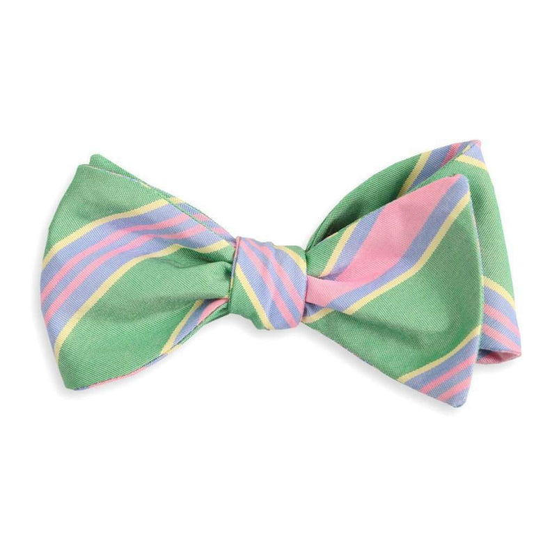 Kelly Maybank Stripe Bow Tie by High Cotton