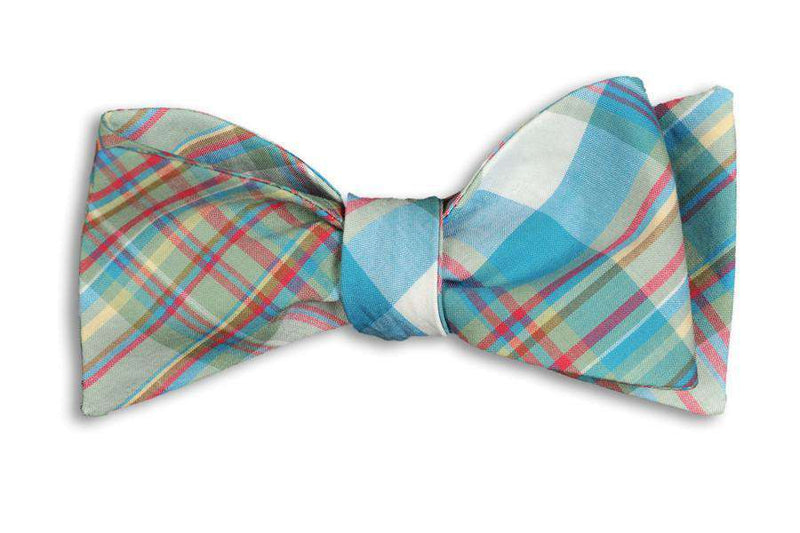 Bow Ties - Kitty Hawk Madras Bow Tie By High Cotton