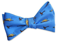 Bow Ties - Let Sleeping Dogs Lie Bow Tie In Blue By Bird Dog Bay