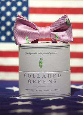 Bow Ties - Marvin's Bow In Pink By Collared Greens