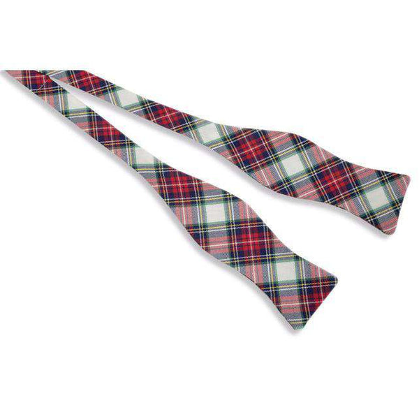 Mcfadden Tartan Bow Tie in Red Plaid by High Cotton