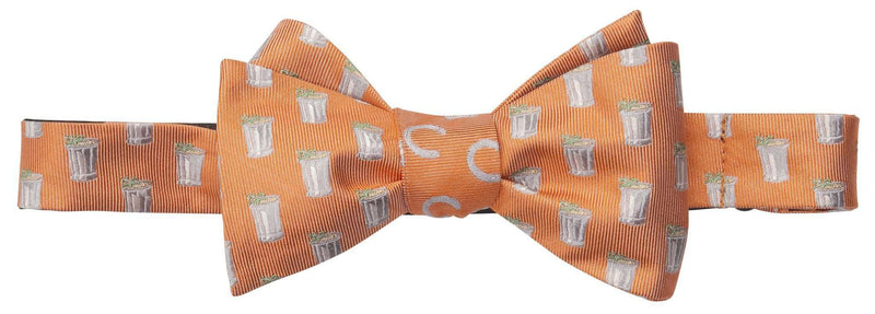 Bow Ties - Mint Julep And Horse Shoe Bow Tie In Orange By Southern Proper