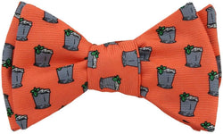 Bow Ties - Mint Julep Bow Tie In Salmon By Southern Proper