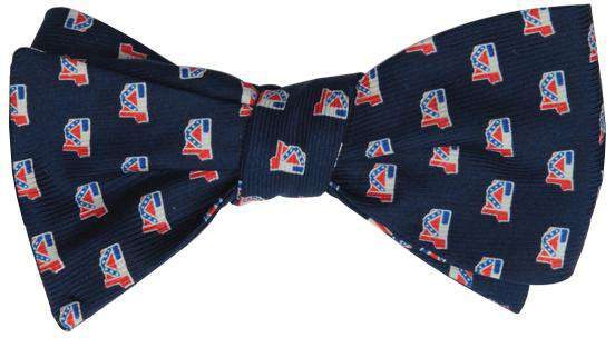 Bow Ties - Mississippi Traditional Bowtie In Navy By State Traditions And Southern Proper