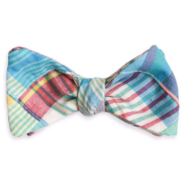 Mulligan Madras Bow Tie by High Cotton