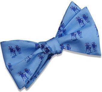 Bow Ties - Off To The Races Bow Tie In Blue By Bird Dog Bay