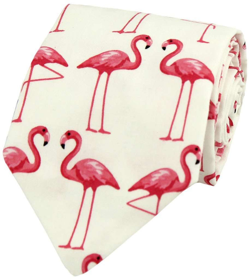 Bow Ties - One Leg Up Tie In Pink By Just Madras