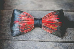 Original Feather Bow Tie in Big Spur by Brackish Bow Ties