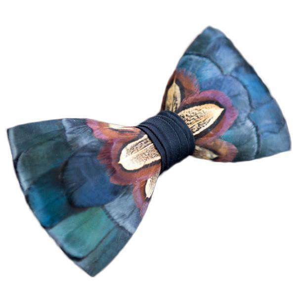 Original Feather Bow Tie in Dawho by Brackish Bow Ties