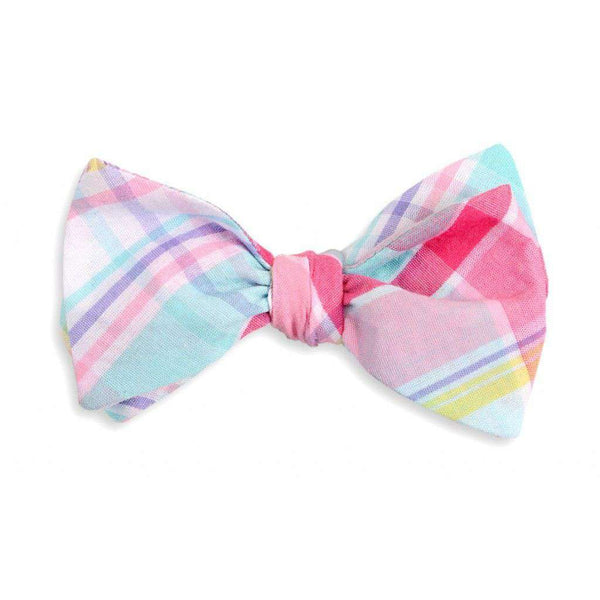 Bow Ties - Palmetto Madras Plaid Bow Tie By High Cotton