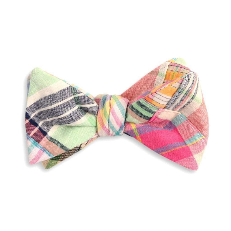 Bow Ties - Pawley's Patchwork Madras Bow Tie By High Cotton