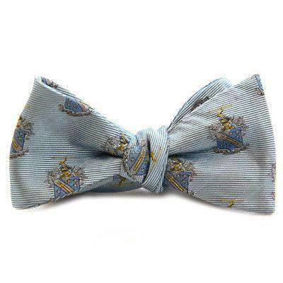 Bow Ties - Phi Delta Theta Bow Tie In Light Blue By Dogwood Black