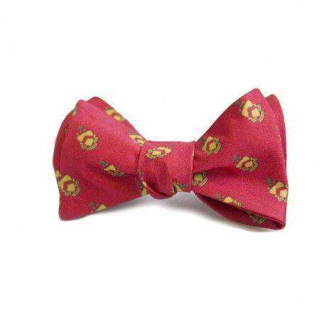 Bow Ties - Phi Kappa Tau Bow Tie In Red By Dogwood Black