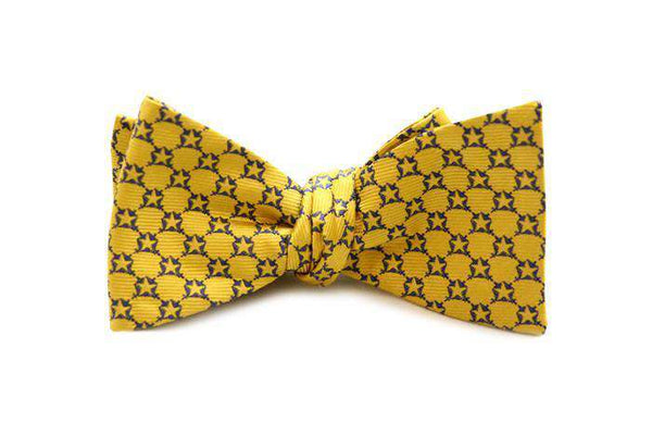 Pi Kappa Phi Bow Tie in Gold by Dogwood Black