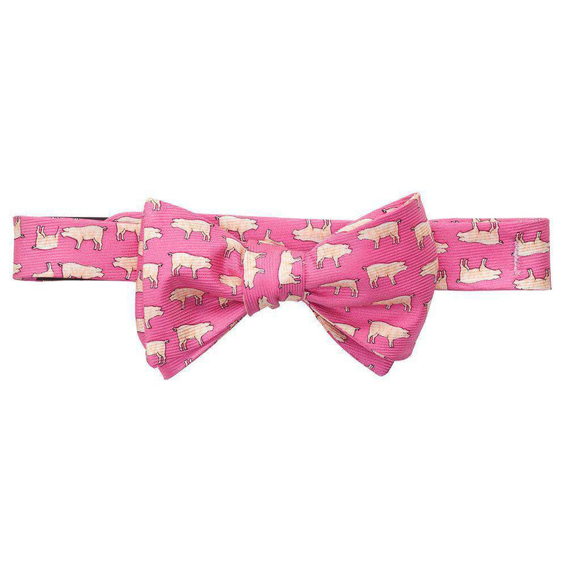 Bow Ties - Pig Pickin' Bow Tie In Pink By Southern Proper