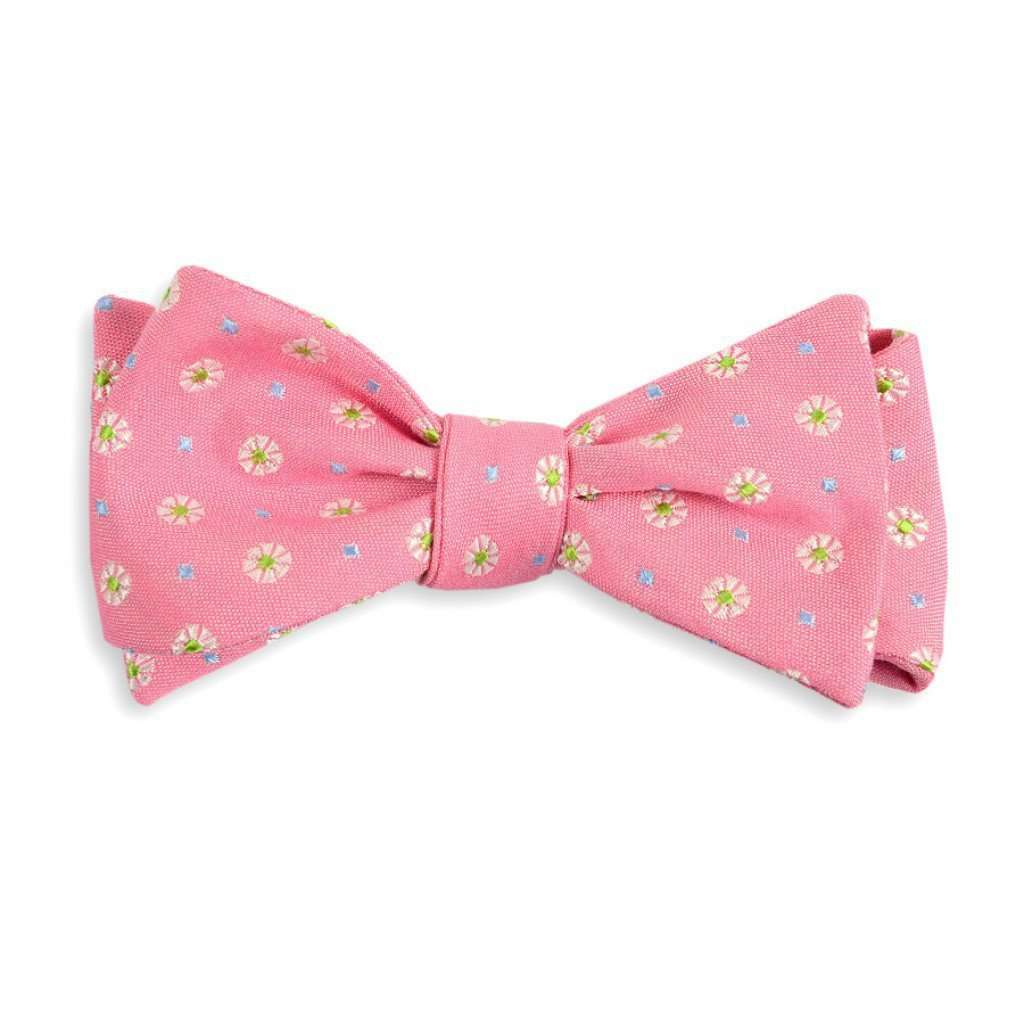Bow Ties - Pink Avery Bow Tie By High Cotton