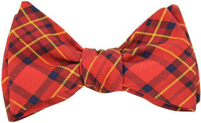 Bow Ties - Plaid Bow Tie In Red By Southern Proper
