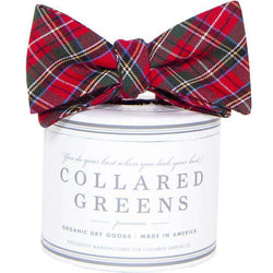 Bow Ties - Prince Of Whales Bow In Red/Green By Collared Greens