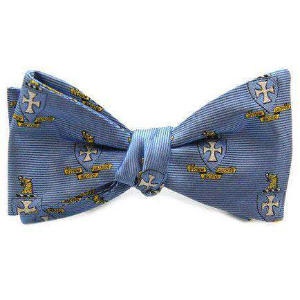 Sigma Chi Bow Tie in Blue by Dogwood Black