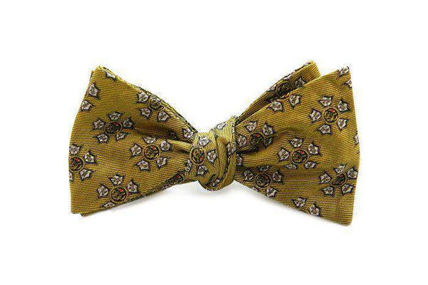 Bow Ties - Sigma Nu Bow Tie In Gold By Dogwood Black