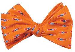 Bow Ties - Tennessee Traditional Bowtie In Orange By State Traditions And Southern Proper