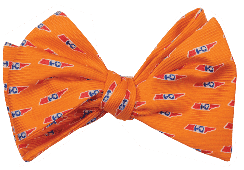 Tennessee Traditional Bowtie in Orange by State Traditions and Southern Proper - Country Club Prep